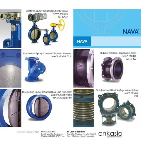 Nava Pipes and Valves
