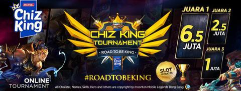 [Official Tournament Mobile Legend] Chizking X MLBB HADIAH 10 JUTA RUPIAH!! GRATIS!!