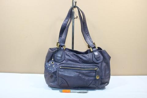 Tas branded KIPLING RHYS Purple leather second original