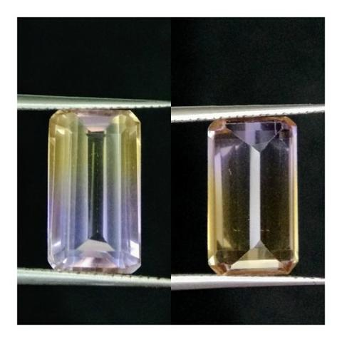 natural ametrine quartz AQ 6.2