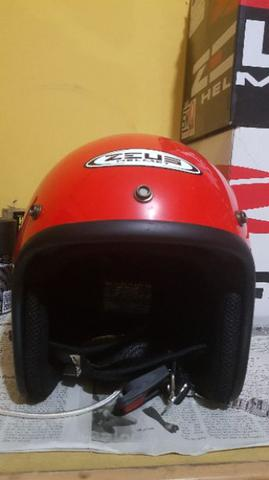 zeus 385c half face retro helm