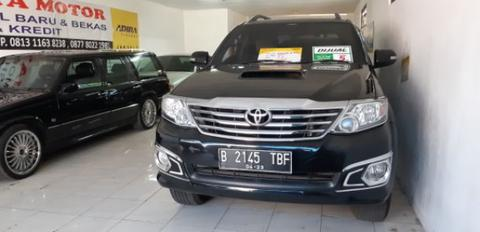 Fortuner G VNT Diesel matic 2013 full asesoris