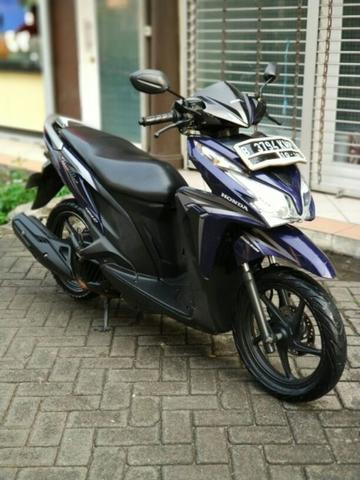 honda vario 125 cbs iss th 2013 pajak hidup mesin alus, not beat, xeon, mio soul gt
