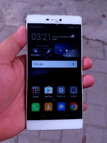 Huawei P8 RAM 3GB ROM 16GB White Gold Unit Aja