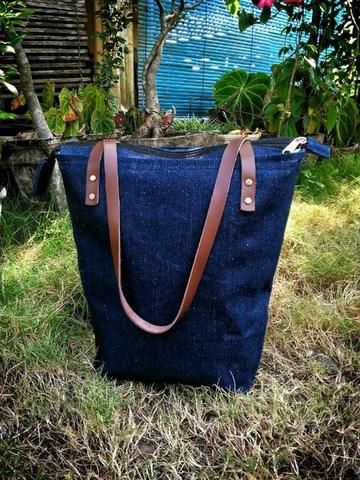 tote bag,tas denim jeans