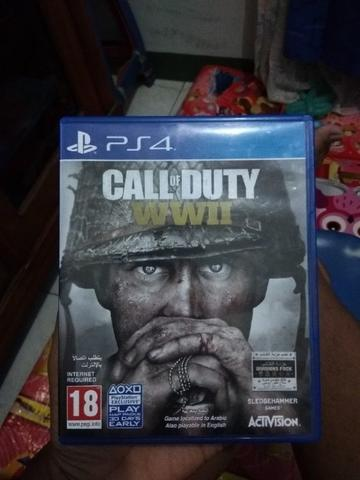 Bd kaset ps4 Call of Duty WWII
