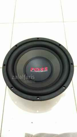 Subwoofer Foss Andante 10inch Double Coil Murah