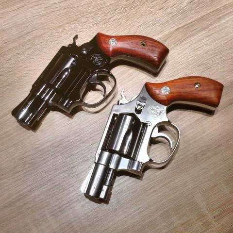 Airsoft revolver tanaka smith & wesson m36 & m60 ladysmith