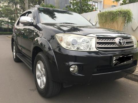 Fortuner G luxury at 2.7, mobil terawat