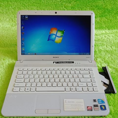 Laptop Sony Vaio seri E-Core i5-Gaming dan Design-4gb 500gb Mantap-CIBUBUR