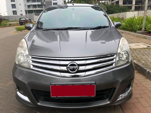 Nissan Grand Livina 1.5 XV Manual 2012 Abu - Abu Metalik