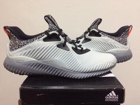 Adidas Alphabounce Clear Grey Matte Silver