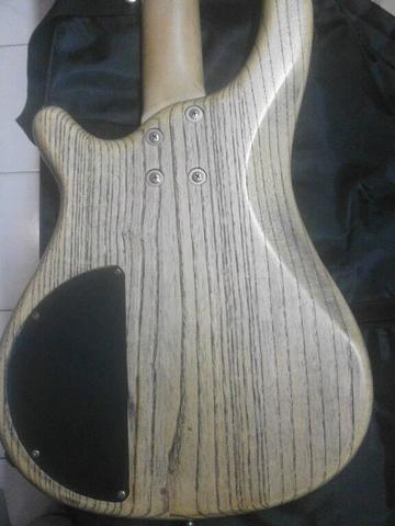 Bass Original Kayu Korea Lawas J&D 4 String Deluxe