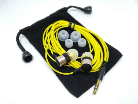 Boarseman KR25 Crazy Bass Earphone Special Yellow Factory Version