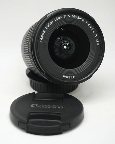 Canon EF-S 10-18mm F4.5-5.6 IS STM Like New Mantapss