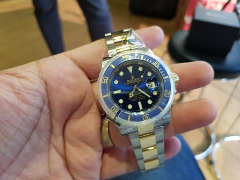 [For Sale] Brand New Rolex Submariner Ceramic Blue Sunburst – 116613LB