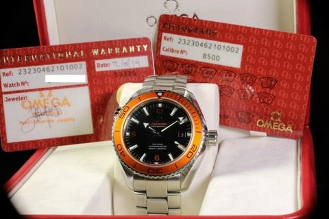 [For Sale] Omega Seamaster Planet Ocean 600M Orange – 232.30.46.21.01.002