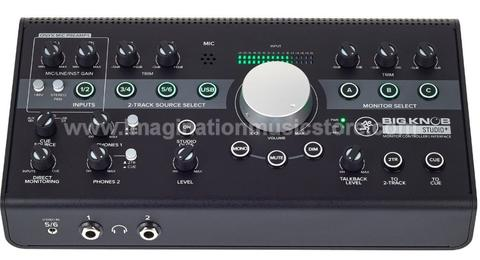 [IMAGINATION MUSIC STORE] Mackie Big Knob Studio+ 4x3 Studio Monitor Controller
