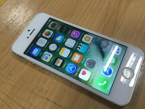 iphone 5 32gb 4G silver ... murah
