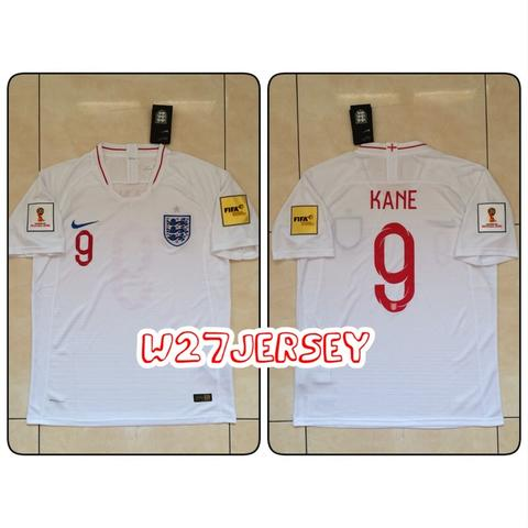 Jersey England Home World Cup 2018 name player Kane + Patch