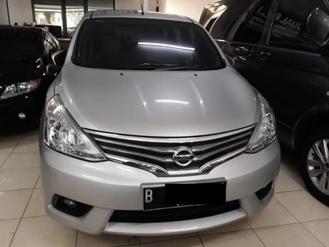Nissan Grand Livina XV AT NIK 2015 Silver