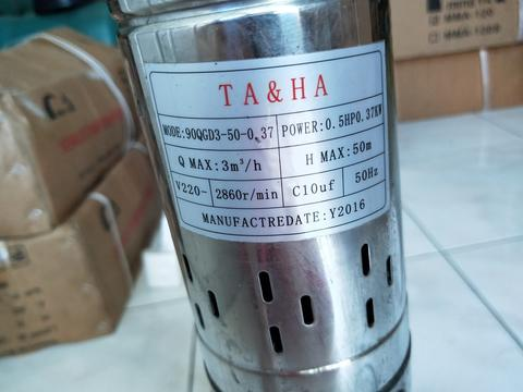 Water Pump Pompa Celup Stainless Steel PUMP Submersible Pump Screw
