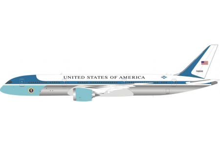 Preorder USAF B787-9 AIR FORCE ONE 78000 polished with stand
