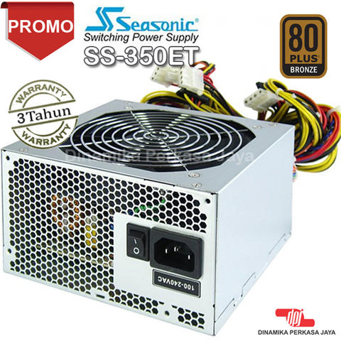 PSU Seasonic SS-350ET - 350Watt - 80PLUS Bronze