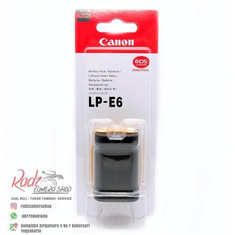 [Radz Camera Shop] Battery Canon LP E6 Like Ori