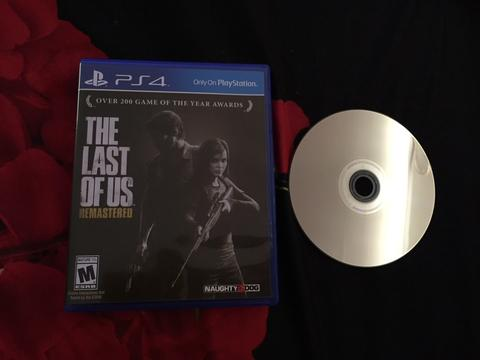 The last of us remastered PS 4