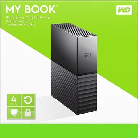 WD MY BOOK DESKTOP STORAGE 4 TB
