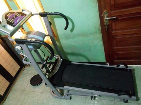 Treadmill Manual Magnetic 5 Fungsi TL 5008 M
