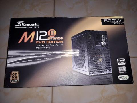 Seasonic M12 II 520W Evo Edition