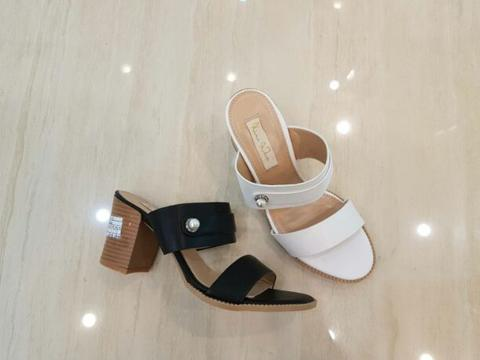 sandal heels Ninewest 6189-7