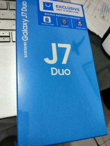 Samsung galaxy J7 Duo 2018 BNIB
