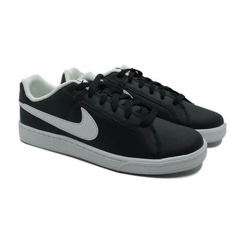 SEPATU CASUAL NIKE Court Royale Black White 749747 010 ORIGINAL MURAH