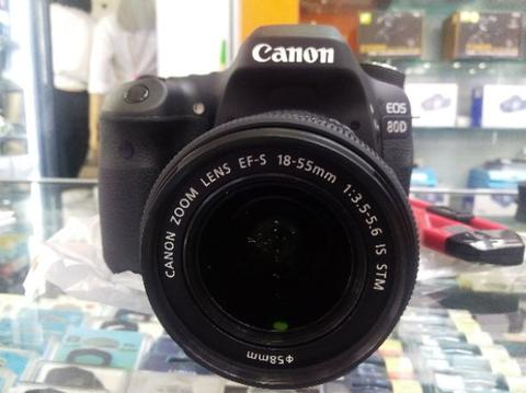 JUAL CANON EOS 80D | NEWW | HARGA SECOND