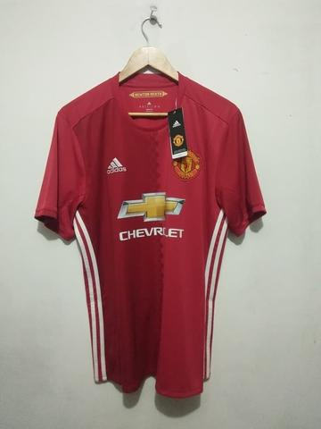 52367a21b87 Terjual jersey original manchester united home 2016 - 2017