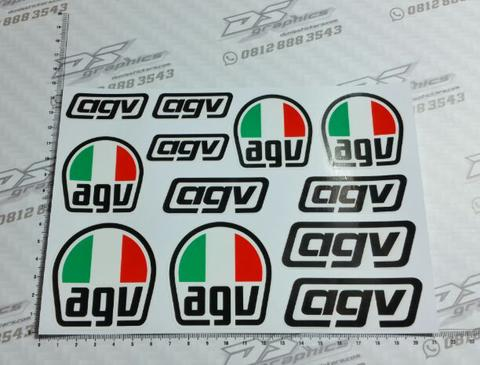 stiker helm agv STICKER AGV