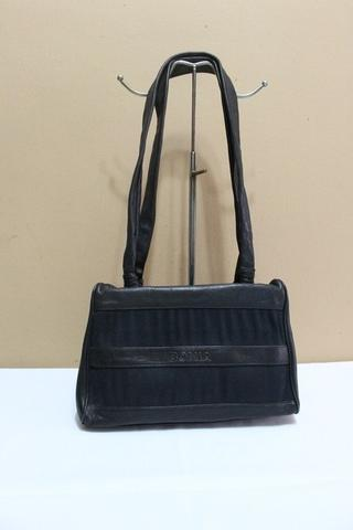 Terjual Tas branded BONIA B290 Black vintage shoulder bag second ... 8664ecb5f7