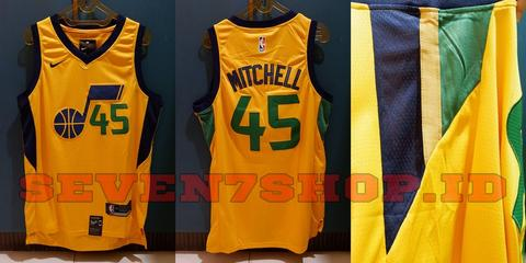 4f34fe37f86 ... low price jersey basket nba swingman kw donovan mitchell utah jazz  kuning import china f6845 4df3b ...