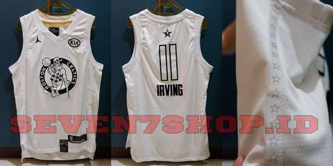 sports shoes a9802 38f59 Jersey Basket NBA Swingman KW Kyrie Irving Allstar 2018 Import China