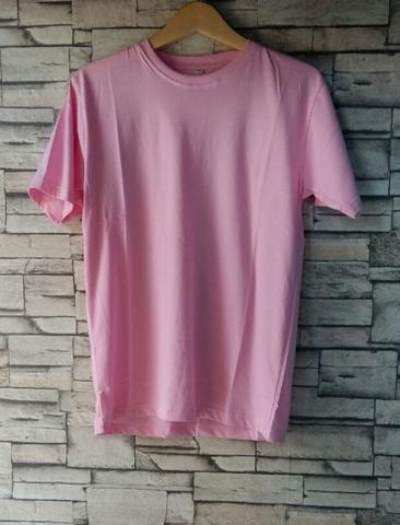 Kaos Polos PREMIUM Cotton Combed 30s - Pink Baby