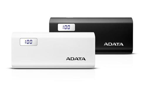 POWER BANK ADATA P12500D 12500MH DUAL OUTPUT LCD DISPLAY