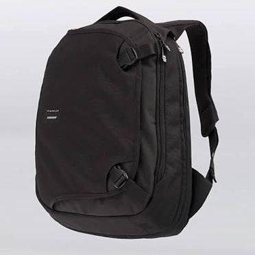 "tas ransel Crumpler The Dry Red No.5 15"" Laptop Backpack Black"