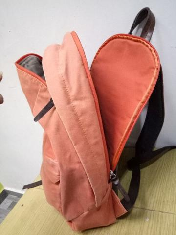 tas ransel PROPERTY OF… Freddie Utility backPack orange Tan waxed canvas