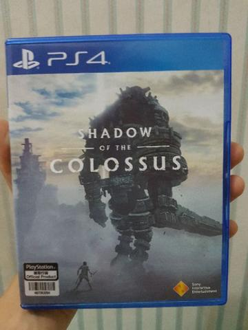BD PS4 Shadow of The Colossus Reg All