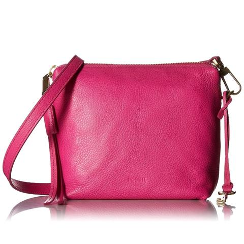 Mini bag FOSSIL original/authentic crossbody/sling bag/slempang HOT PINK/Fuschia