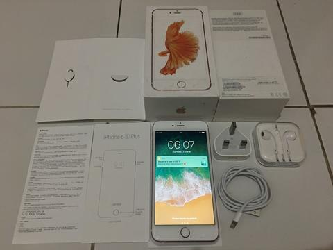 IPHONE 6S PLUS ROSEGOLD 64GB FU FULLSET NORMAL MURAAHH 5000 SAJA [MALANG]