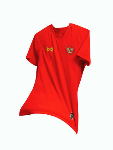 (PRE-ORDER) Jersey TImnas Indonesia 2018 by Mars